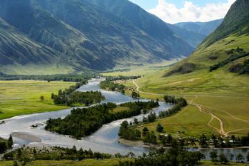 The Chulyshman River in the Altai