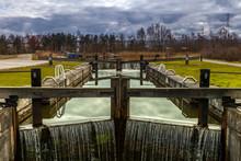 Canal Lock In Stirling Scotlan...
