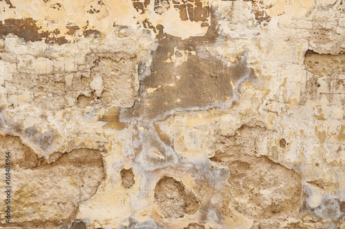 Photo sur Aluminium Vieux mur texturé sale Old weathered wall