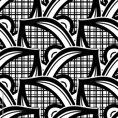 black-and-white-seamless-pattern
