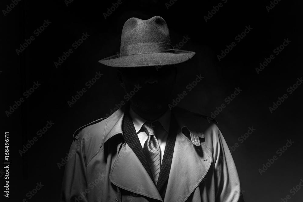 Fototapety, obrazy: Noir movie character