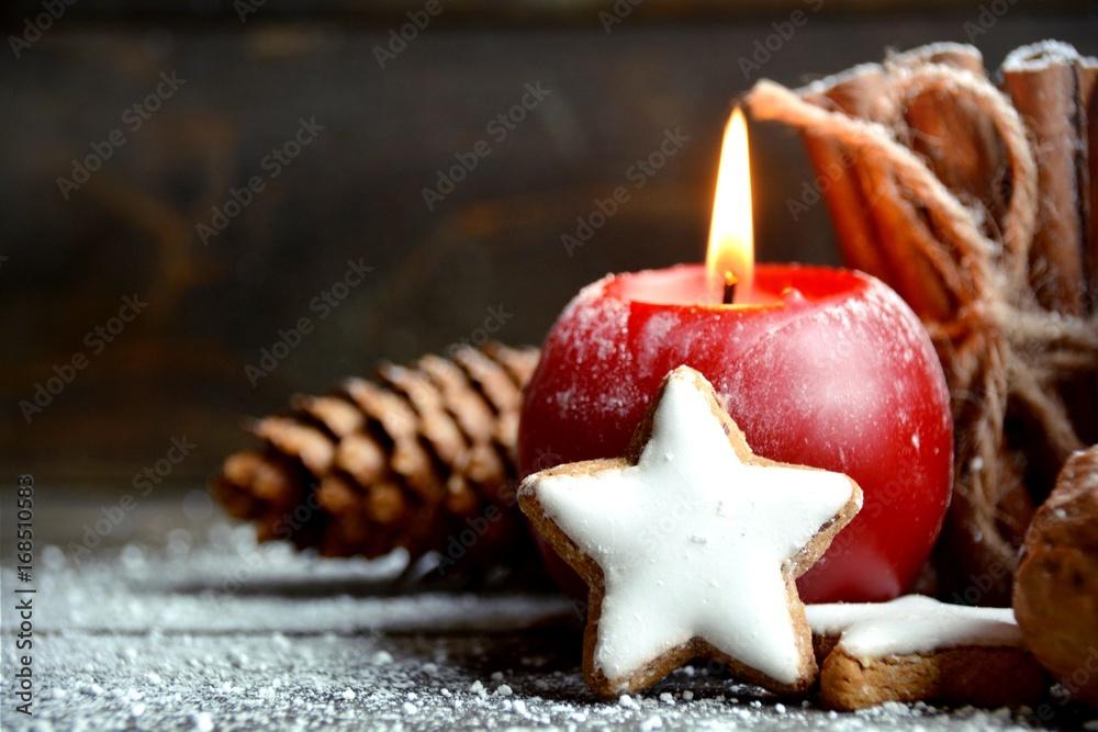 Photo  Weihnachten - Adventskerzen