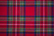 Scottish Style Fabric, Tartan Plaid Texture