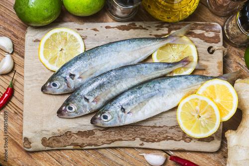 Valokuva  Round scad fish