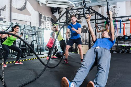 Fototapeta sport trening-sportow-kulturystycznych