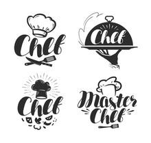 Chef, Cook Logo Or Label. Illu...