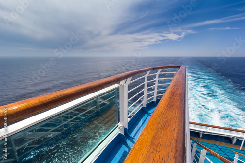 Foto  View from cruise ship