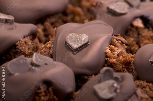 Foto op Aluminium Snoepjes Brownies