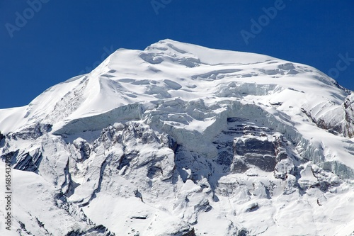 Vászonkép Annapurna circuit, view from Thorung La pass