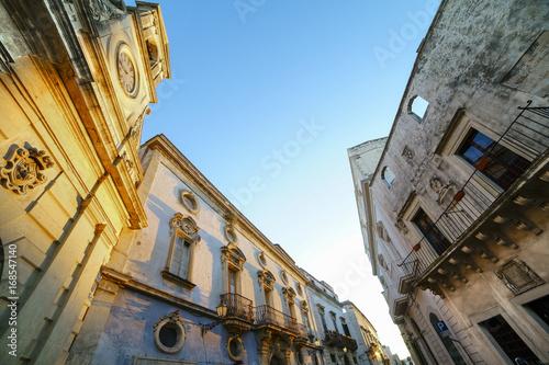 Valokuva  Galatina Town in Salento - Detail of the historic center - Italy
