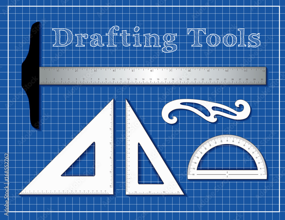 Photo & Art Print Drafting Tools for Architecture, Engineers