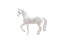 Statuette Of White Horse Isola...