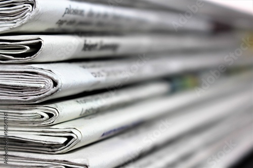 An Image of a newspaper Fototapete