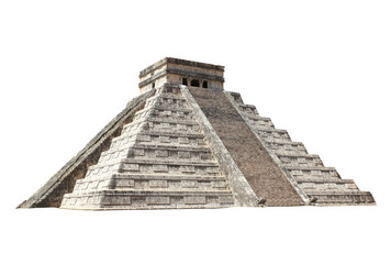 Ancient Mayan pyramid (Kukulcan Temple), Chichen Itza, Yucatan, Mexico