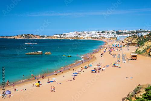 Foto op Canvas Cyprus plage en été