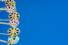 A Ferris Wheel And Its Colorfu...