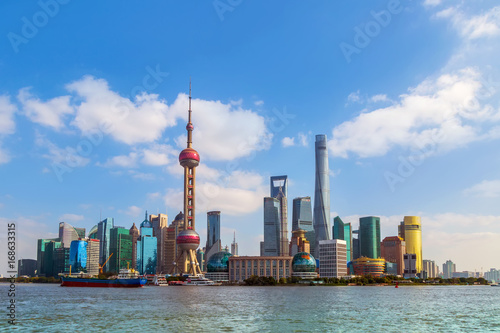 Foto op Aluminium Shanghai Architectural scenery and skyline of Shanghai