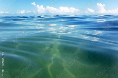 Wall Murals Ocean Ocean water and sky