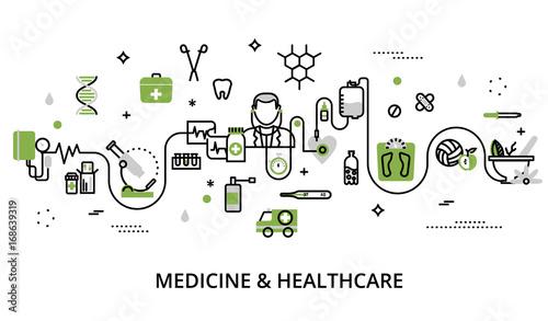 Fotografía  Greenery concept of medicine and healthcare