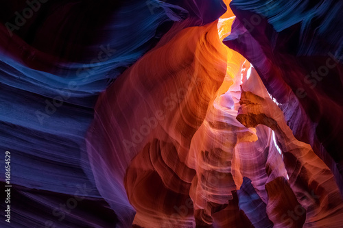Deurstickers Bordeaux Antelope Canyon, Arizona, US