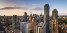 Panoramic View Of Toronto City...