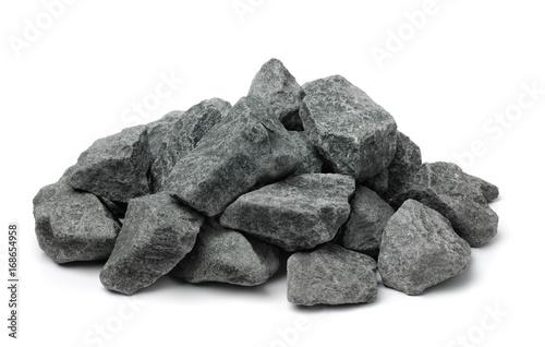 Fototapeta Pile of crushed granite obraz