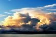 Leinwandbild Motiv Morning Storms - Incoming Hurricane - Weather Changes.