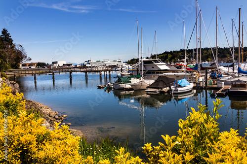 Foto op Aluminium Oceanië Bainbridge Island Harbor Puget Sound Washington State