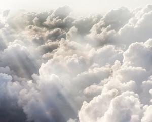 Fototapeta Optyczne powiększenie Beautiful blue sky background