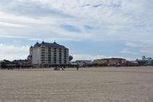 The Famous Boardwalk In Ocean City, Maryland