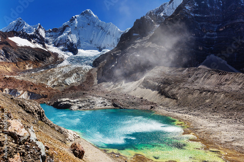 Staande foto Bleke violet Cordillera