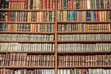 Background Of Old Vintage Book...