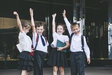 Beautiful School Children Acti...