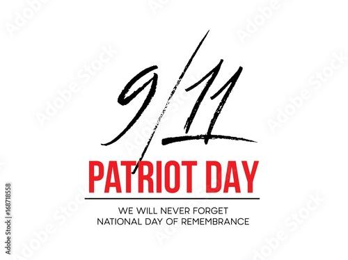 Photo  September 11, 2001 Patriot Day background