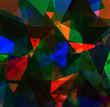 abstrakter Hintergrund indunklen leuchtenden Farben - grafisches Design