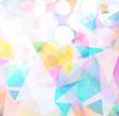 abstrakter Hintergrund in Pastellfarben - grafisches Design
