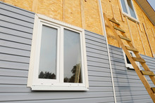 Siding Covering The Wall Of A ...
