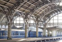 Metal Train Station
