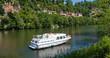 canvas print picture - Tourisme fluvial