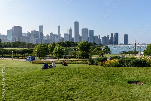 Plakat Panoramę Chicago
