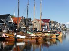 Fischerboote Von Urk