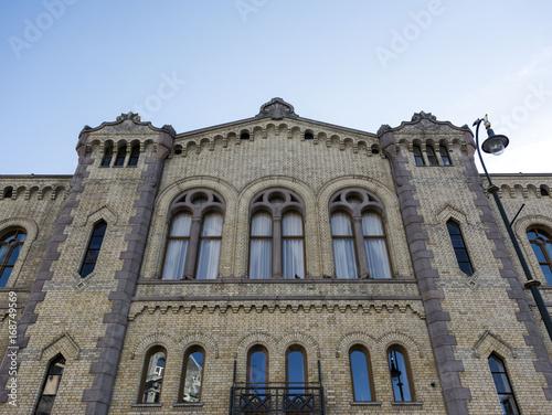 Immeuble ancien. Obraz na płótnie
