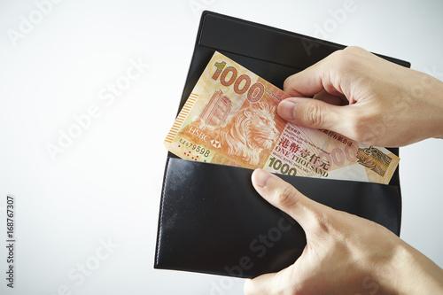 Photo  Hongkong dollar