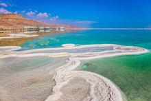Very Salty Water In The Dead Sea