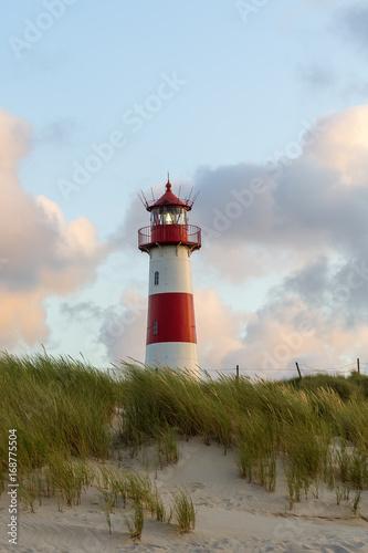 Foto op Aluminium Vuurtoren Lighthouse List - Sylt, Germany