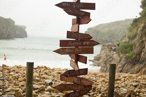 Asturias - Playa de Guadamia-España