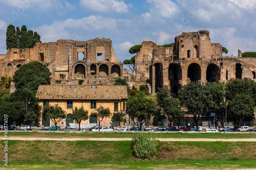 Valokuva  Palatine Hill in Rome, Italy