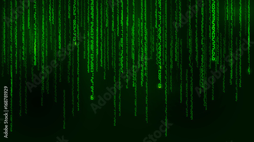 Photo Background in a matrix style