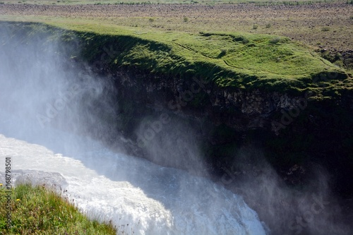 Wall Murals Waterfalls Golden Falls, Gullfoss, Iceland