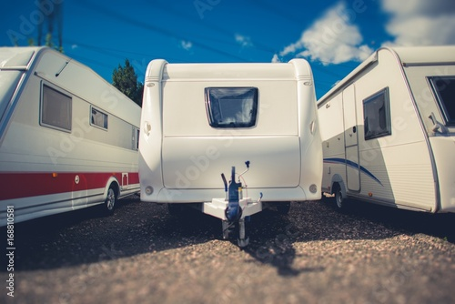 Poster Camping Pre Owned Travel Trailers